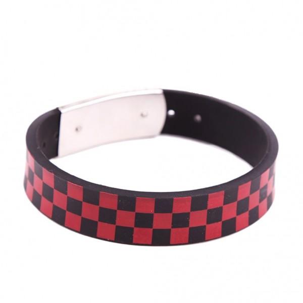 Bedrucktes Gummi Armband