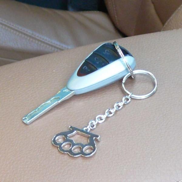 Metall Schlüsselanhänger Schlagring
