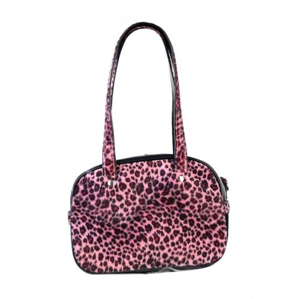 Retro Leopard Damen Handtasche