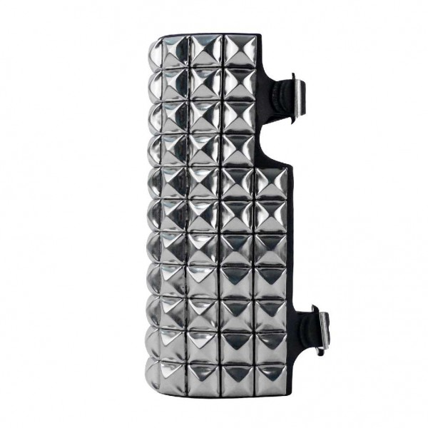 Armband-Kunstleder mit Metallpyramiden