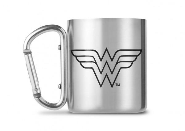 DC Comics Wonderwoman Carabiner Metall Tasse Mug