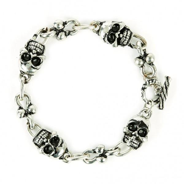 Mexicanischer Totenkopf Armband