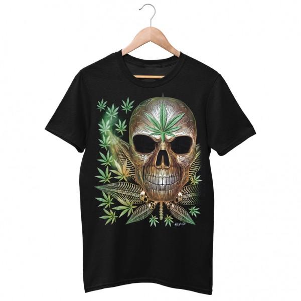 Wild Motiv Shirt Smoke Homegrown