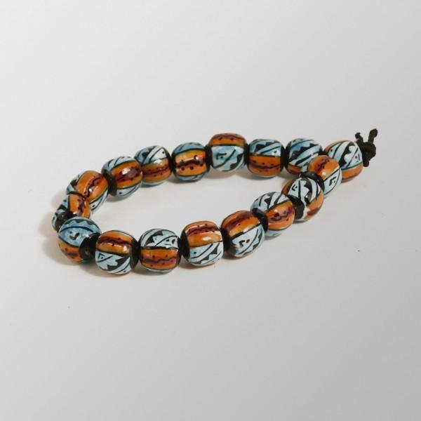 Handgemachtes Keramik Armband aus Peru