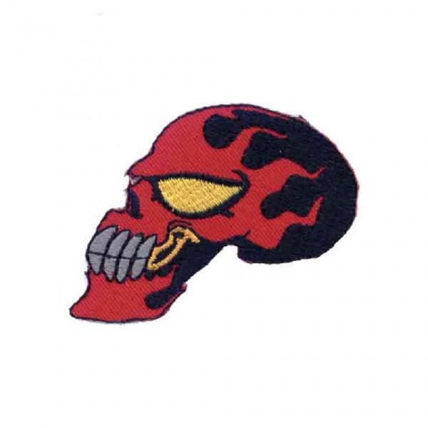 Racing Skull Totenkopf Patch