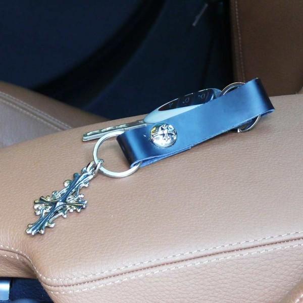 Antiques Kreuz Schlüsselanhänger