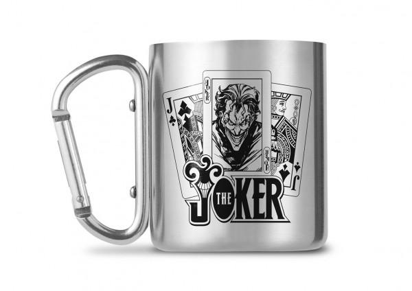 DC Comics The Joker Carabiner Metall Tasse Mug