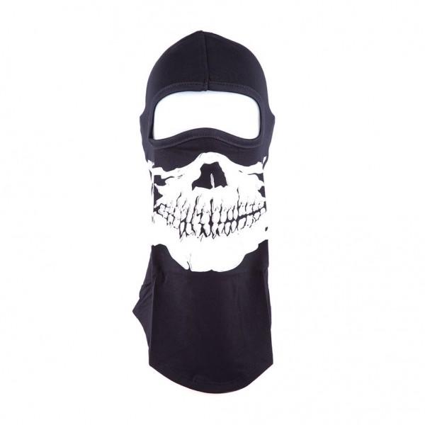Sturmmaske mit Aufgedrucktem Totenschädel Design