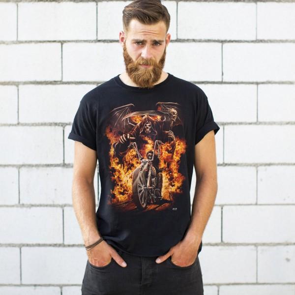 Todes Biker Glow in the Dark T-Shirt