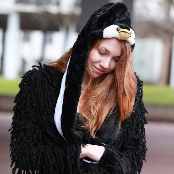 Pinguin Cosplay Wintermütze