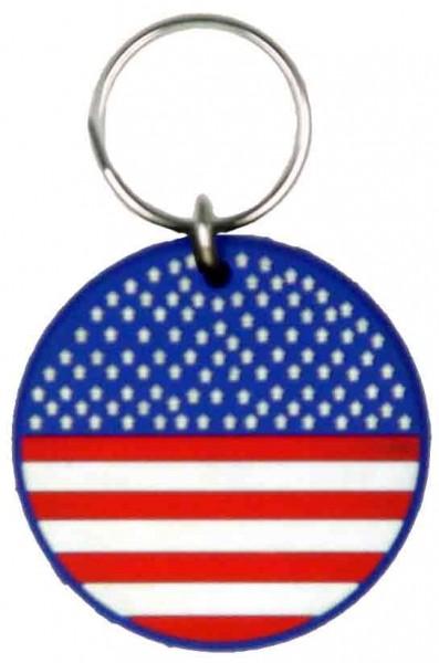 U.S.A Gummi Schlüsselanhänger