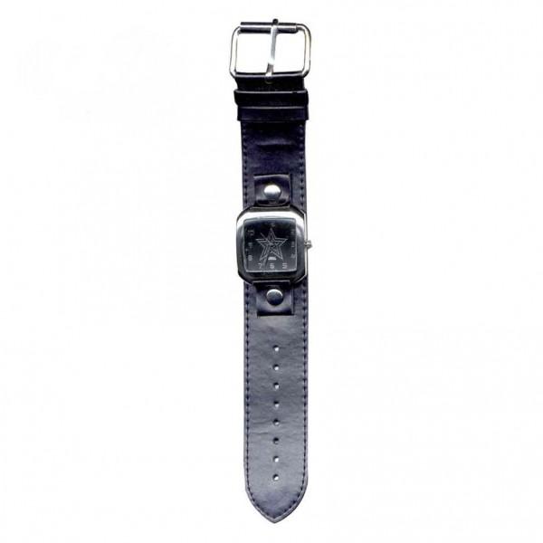 Pentagramm Stern Armbanduhr