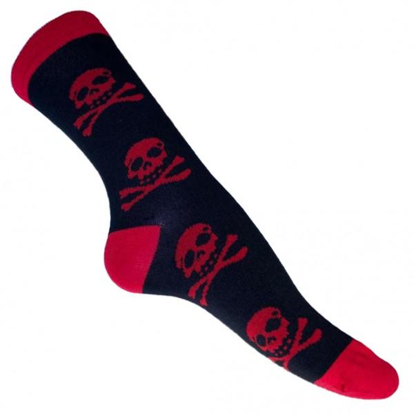 Jolly Roger Skull Socken one size