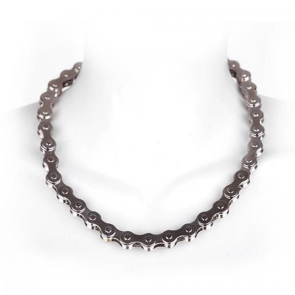 Biker Halskette im Chain Design