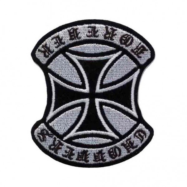 Choppers Forever Iron Cross Patch