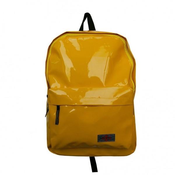 Gelber Regen Rucksack Wasserabweisend
