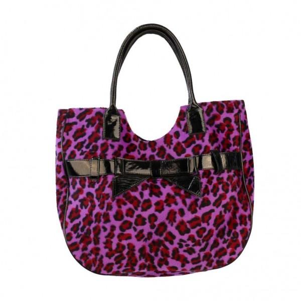 Damenhandtasche in Leopardenfell Optik