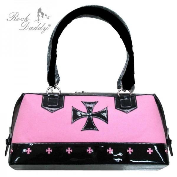 Cyber Handtasche mit Kreuz