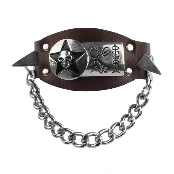 Armband mit Metall Accessoires