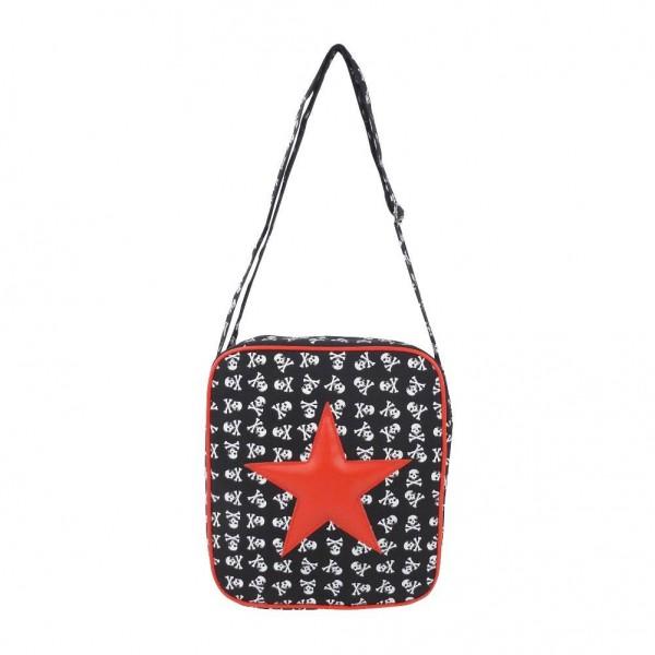 Messenger Tasche mit Rotem Stern