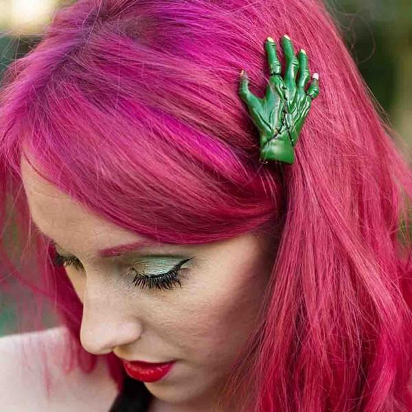 Frankenstein Hände Haarspangen