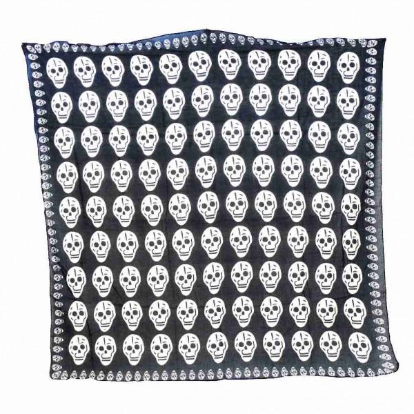 La Santa Muerte Classic Skull Halstuch